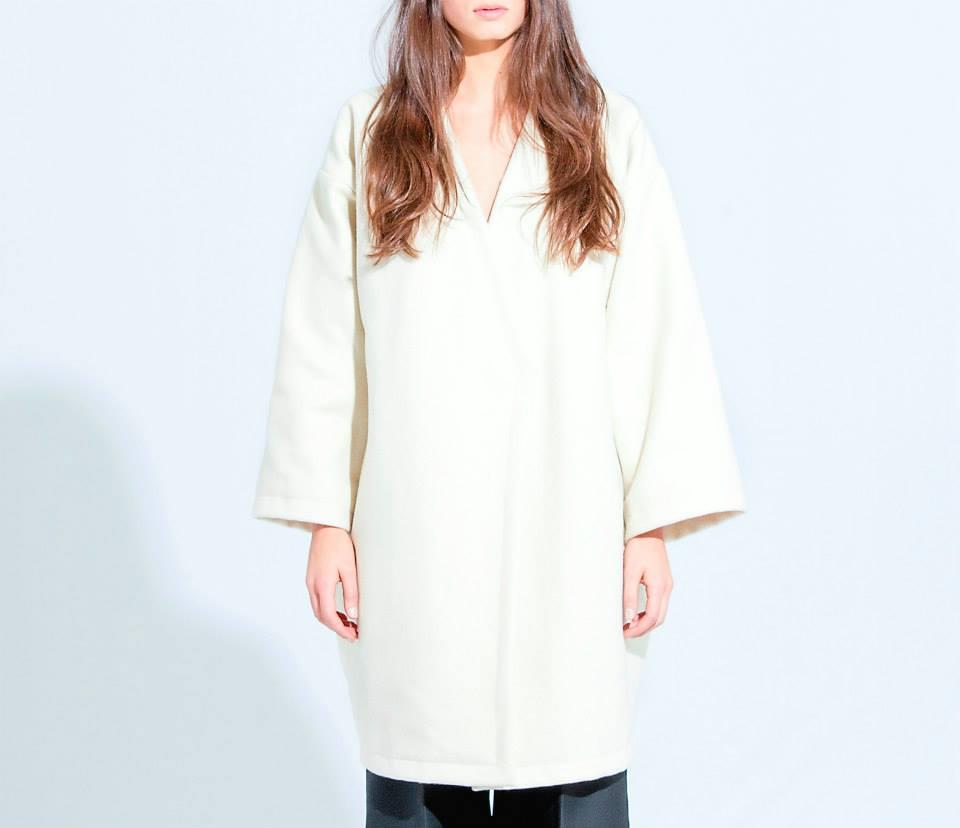 minimal style coat lamìae