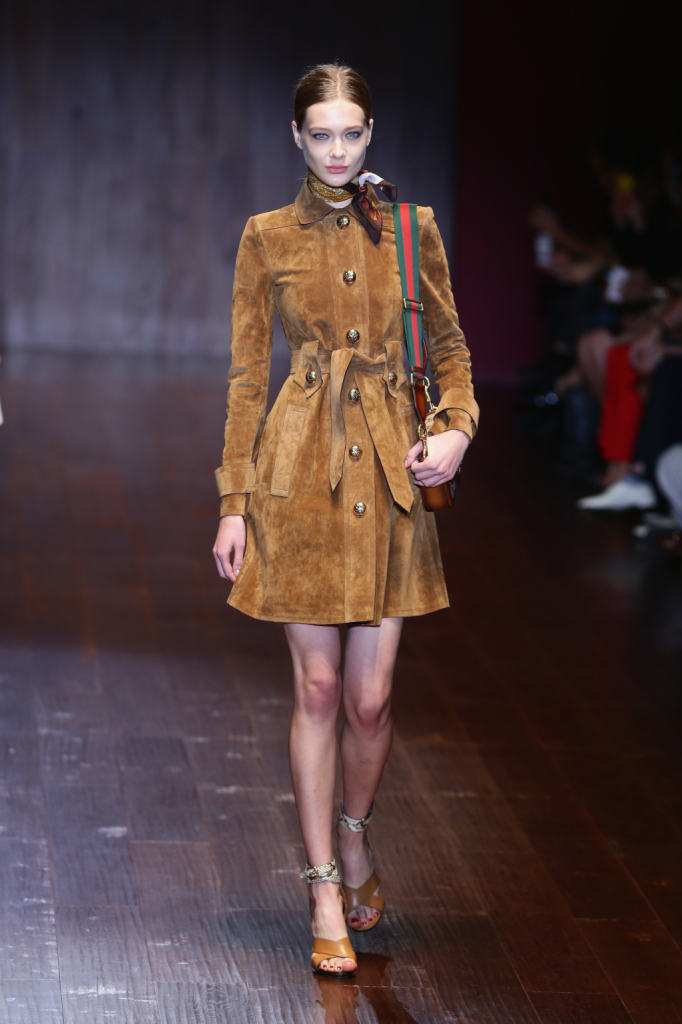 Gucci - Runway - Milan Fashion Week Womenswear Spring/Summer 2015