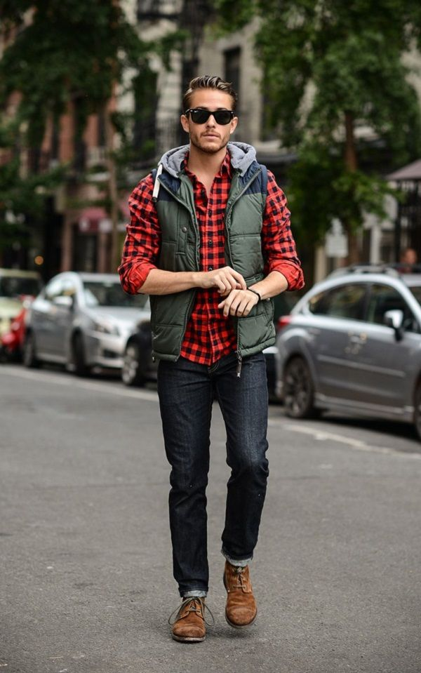 Plaid Flannel shirts for men Tieapart Blog